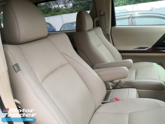 2010 TOYOTA ALPHARD 3.5 GL Pilot Seat TRUE YEAR MADE 2010 3 cameras Auto Parking Home Theater System 2013