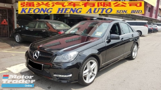2014 MERCEDES-BENZ C-CLASS C200 CGI AMG LINE (A) REG 2014, ONE CAREFUL OWNER, FULL SERVICE RECORD, LOW MILEAGE DONE 92K KM, FREE 1 YEAR GMR CAR WARRANTY, 18\