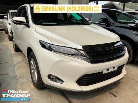 2017 TOYOTA HARRIER 2.0 surround camera power boot push start keyless entry unregistered