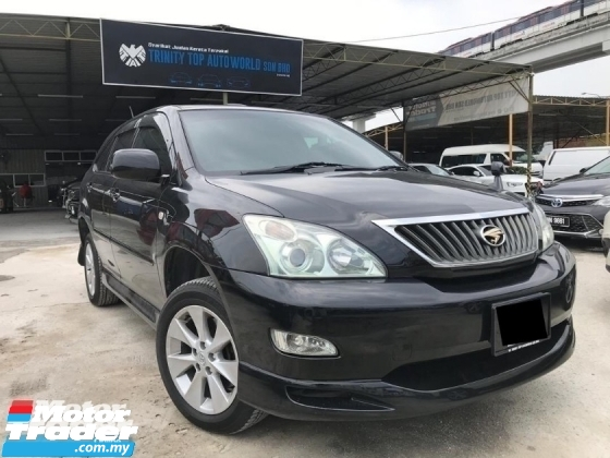 2008 TOYOTA HARRIER 240G PREMIUM L HIGH SPEC - SUNROOF - FULL LEATHER - ELECTRIC SEAT - NICE PLATE NUM - CONDITION TERBAIK - ALL ORIGINAL - PROMO CNY 2020
