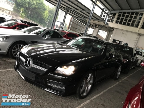 2015 MERCEDES-BENZ SLK SLK200 2.0 AMG SPORT NEW ENGINE PANORAMIC ROOF 2015 UNREG