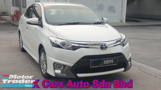 2016 TOYOTA VIOS 1.5 G (A) Low Mileage Full Service History By UMW Toyota Confirm Accident Free No Repair Need Worth Buy