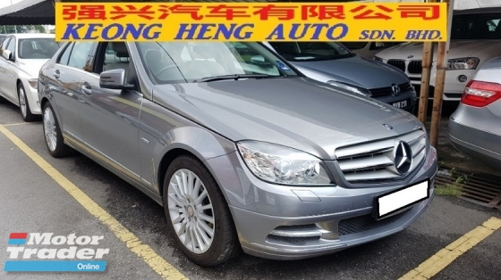2011 MERCEDES-BENZ C-CLASS C250 CGI AVANTGARDE (A) REG 2010, CKD, ONE CAREFUL OWNER, FULL SERVICE RECORD, MILEAGE DONE 32K KM, FREE 1 YEAR GMR CAR WARRANTY, 17\