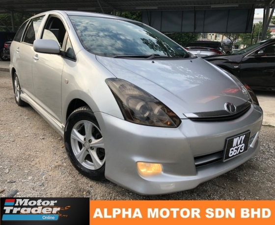 2007 TOYOTA WISH 1.8 (A) FACELIFT 4 NEW TYRE