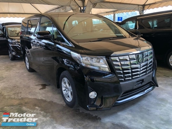 2016 TOYOTA ALPHARD 2.5 X 8 SEATER PRE CRASH STOP SYSTEM 2 POWER DOOR POWER BOOT 360 SURROUND CAMERA FREE WARRANTY