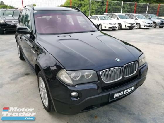 2007 BMW X3 2.5SI