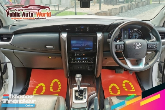 2017 TOYOTA FORTUNER Toyota FORTUNER 2.7 SRZ 4WD P/BOOT L/MILE WARRANTY