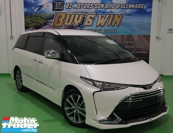 2016 TOYOTA ESTIMA 2016 TOYOTA ESTIMA NEW FACELIFT 2.4 AERAS PREMIUM JAPAN SPEC UNREG CAR SELLING PRICE RM 196000.00