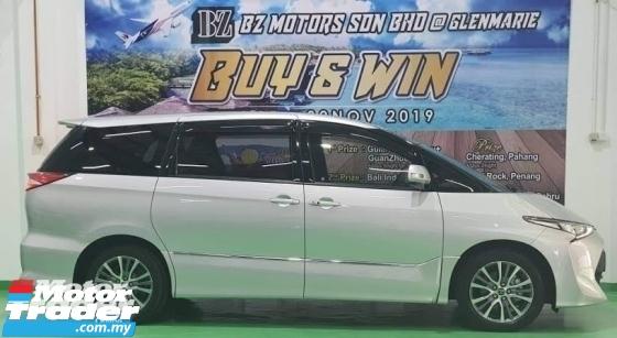 2018 TOYOTA ESTIMA 2018 TOYOTA ESTIMA NEW FACELIFT 2.4 AERAS JAPAN SPEC UNREG CAR SELLING PRICE ( RM 218,000.00 NEGO )