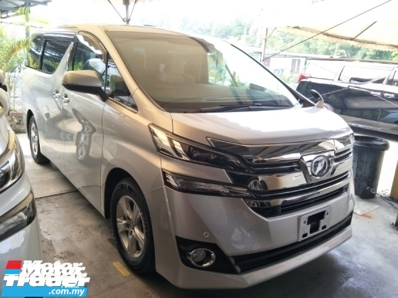 2016 TOYOTA VELLFIRE 2.5 X 8 SEATER SUNROOF PRE CRASH STOP SYSTEM AUTO CRUISE 1 POWER DOOR FREE WARRANTY