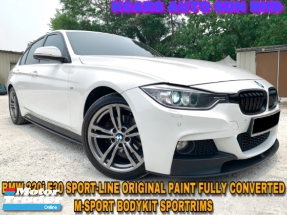 2014 BMW 3 SERIES 320i Sport Edition FULL CONVETED M-SPORT EDITION ORIGINAL PAINT