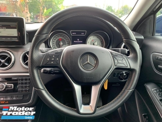 2014 MERCEDES-BENZ GLA GLA200 1.6(A) HIGH SPEC LOCAL UNIT LIKE NEW CONDITION