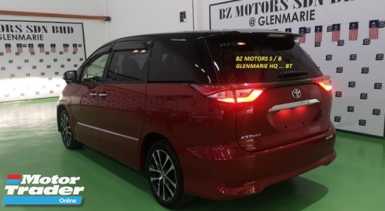2016 TOYOTA ESTIMA 2016 TOYOTA ESTIMA 2.4 AERAS PREMIUM FACELIFT JAPAN SPEC UNREG CAR SELLING PRICE RM 189000.00