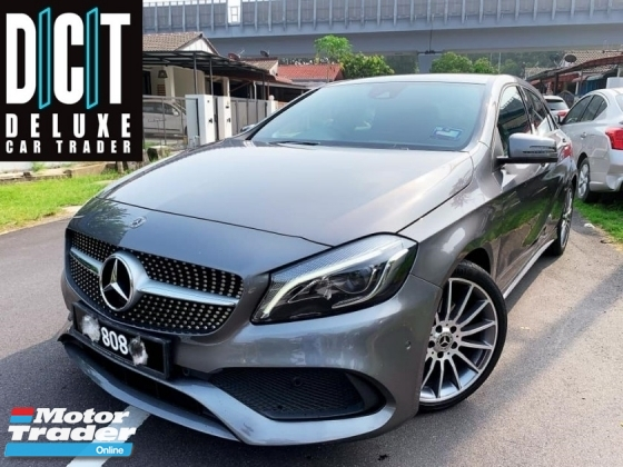 2017 MERCEDES-BENZ A-CLASS A200 AMG LINE UNDER WARRANTY BY BENZ MALAYSIA DEMO CAR 30KM UNDER WARRANTY FULL SERVISE RECORD FREE 808 3DIGIT NUMBER