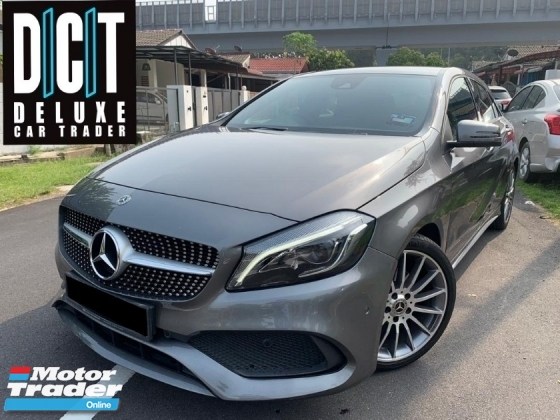 2017 MERCEDES-BENZ A-CLASS A200 AMG SPEC FACELIFT LOW MILEAGE UNDER WARRANTY