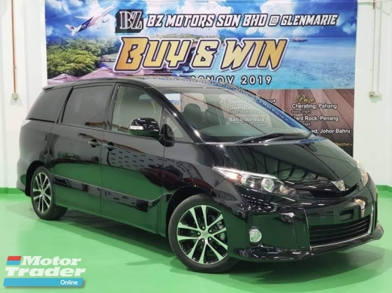 2014 TOYOTA ESTIMA 2014 TOYOTA ESTIMA 2.4 AERAS  JAPAN SPEC UNREG CAR SELLING PRICE ( RM 147000.00 NEGO ) BLACK COLOR