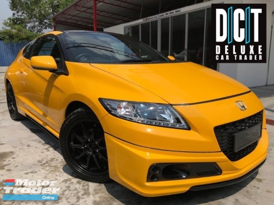 2014 HONDA CR-Z 1.5 FACELIFT SPORT PLUS MUGEN PREMIUM HIGH SPEC ONE OWNER LOW MILEAGE TIPTOP CONDITION