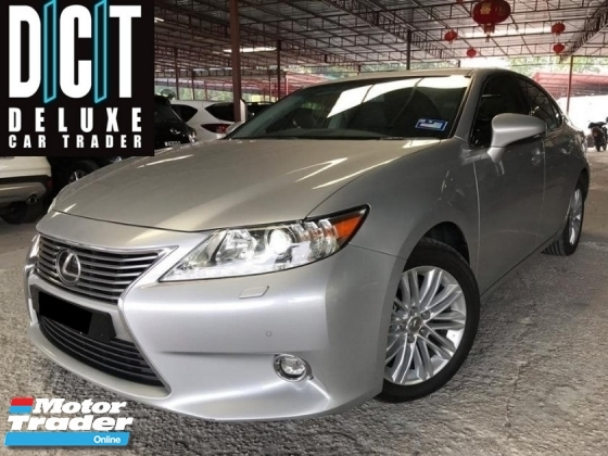 2015 LEXUS ES250 LUXURY FULLY HIGH SPEC 1OWNER TIP TOP CONDITION NICE PLAT NOMBER