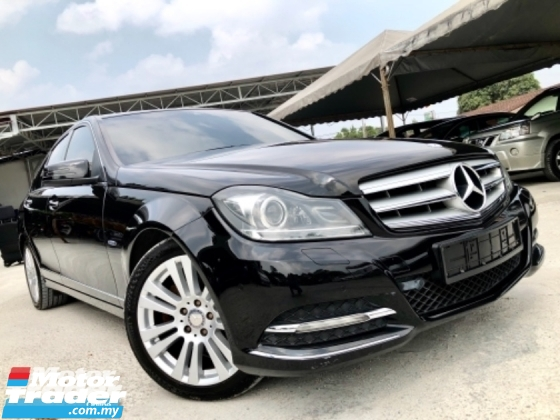 2013 MERCEDES-BENZ C-CLASS C200 1.8 CGI TURBO (A) 1 OWNER TIP -TOP CONDITION