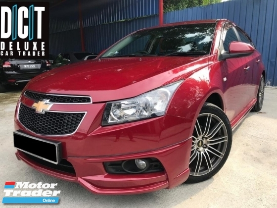 2014 CHEVROLET CRUZE Chevrolet CRUZE 1.8 SE (A) FULL SPEC 1OWNER LIKE NEW CONDITION