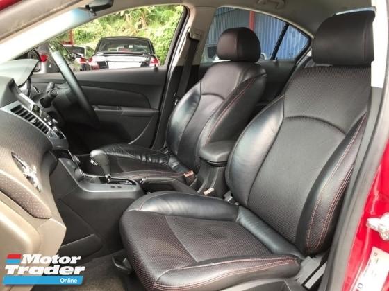 2014 CHEVROLET CRUZE Chevrolet CRUZE 1.8 SE (A) FULL SPEC 1OWNER LIKE NEW CONDITION