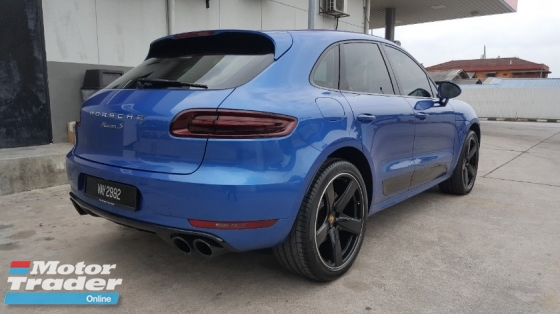 2016 PORSCHE MACAN S 3.0 V6 Turbo (CBU) AWD 49k Km Genuine Mileage Full Service By Porsche Malaysia Warranty Until 2021 Confirm Accident Free Excellent Condition Worth Buy