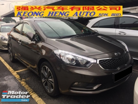 2013 KIA CERATO 1.6 (A) Actual Year Make 2013