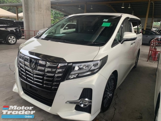 2015 TOYOTA ALPHARD 2.5SC PILOT SEAT FULLY LOADED JBL SOUND SYSTEM SURROUND CAMERA HOME THEATER