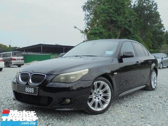 2006 BMW 5 SERIES 525i 2.5 Magnesium E60 M-Sport TipTOP LikeNEW Reg.2010
