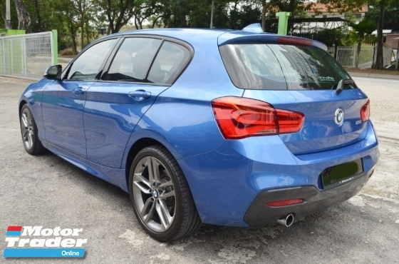 2017 BMW 1 SERIES 118i MSPORT FACELIFT UNDER WARRANTY