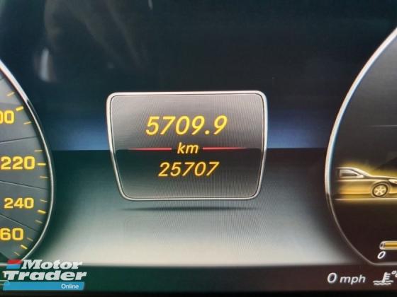 2017 MERCEDES-BENZ E-CLASS E200 CKD 25k km Reg 2018