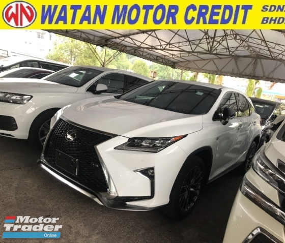 2017 LEXUS RX RX200 RX200T FSORT F SPORT 2017 UNREG JAPAN LIKE NEW CAR FULL SPEC