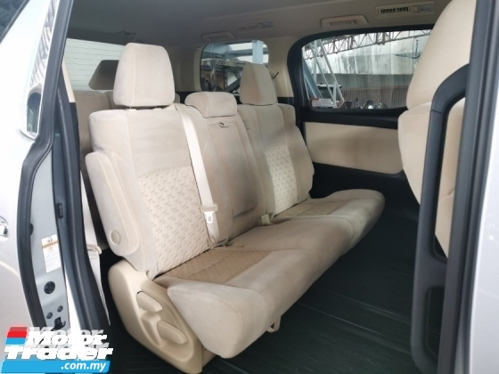 2015 TOYOTA ALPHARD 2.5 G X UNREG TRUE YEAR CAN PROVE.7 8 SEATER.3 POWER DRS N BOOT.360 SURROUND CAMERA.2 WHEEL DRIVE.DVD MONITOR.FREE WARRANTY N  GIF