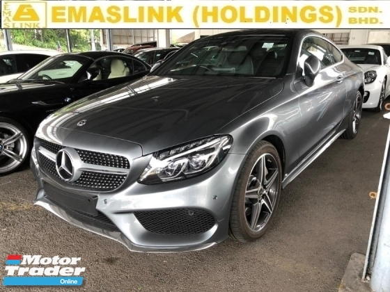 2018 MERCEDES-BENZ C-CLASS 300 2.0 AMG LINE PLUS PRE CRASH STOP SYSTEM PANAROMIC ROOF FREE WARRANTY