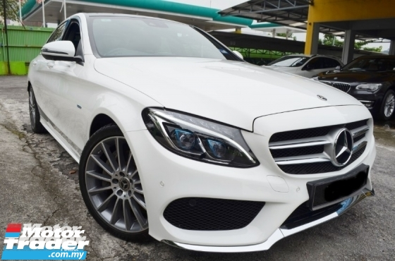 2018 MERCEDES-BENZ C-CLASS C350E (A) AMG LINE UNDER WARRANTY