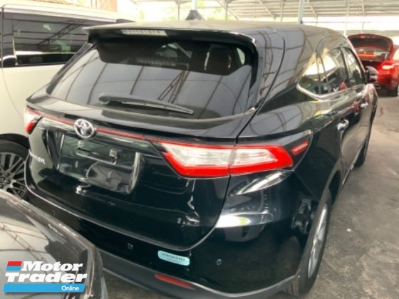 2017 TOYOTA HARRIER 2.0 4 camera power boot precrash system facelift panaramic roof