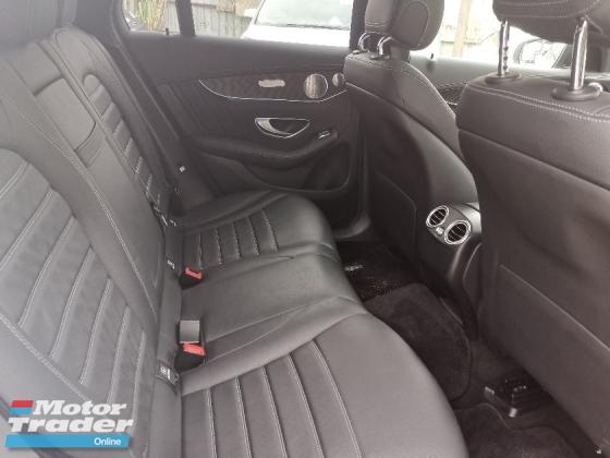 2018 MERCEDES-BENZ GLC 43 AMG SUV SUNROOF/SURROUND CAM/POWER BOOT UNREG