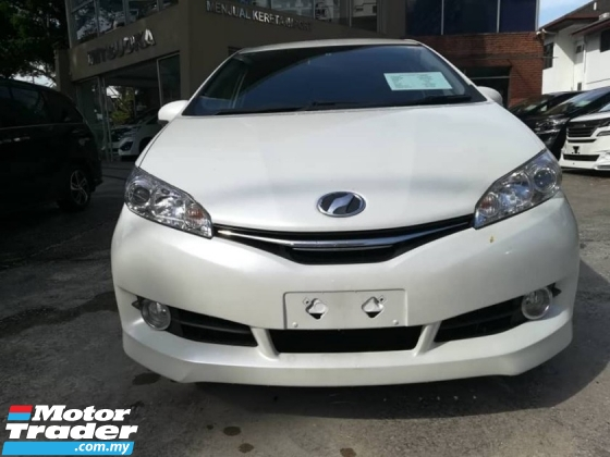 2015 TOYOTA WISH 1.8 (5 YEARS WARRANTY)
