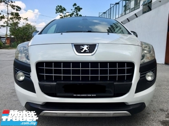 2013 PEUGEOT 3008 1.6 TURBO PANAROMIC TIPTOP CONDITION FulloanOTR