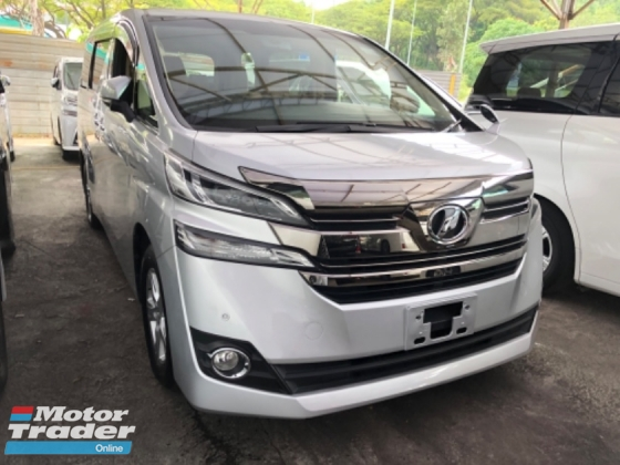 2015 TOYOTA VELLFIRE Unreg Toyota Vellfire X 2.5 8seather Camera PowerDoor 7G