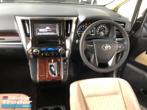 2015 TOYOTA VELLFIRE Unreg Toyota Vellfire X 2.5 8seather Camera PowerDoor 7G