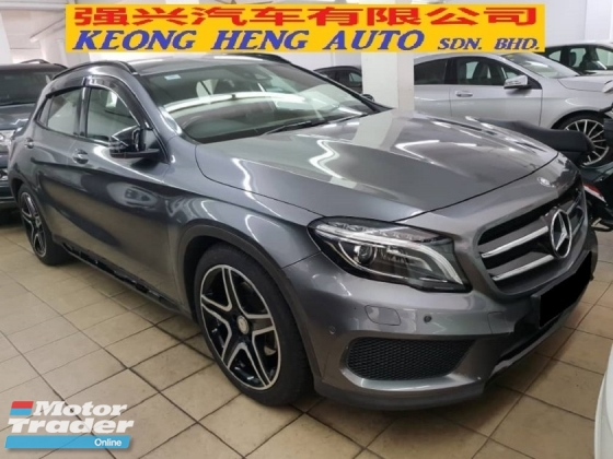 2015 MERCEDES-BENZ GLA 250 4MATIC 2.0 (CBU Import Baru)