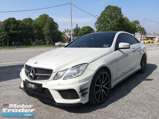 2012 MERCEDES-BENZ E-CLASS E250 E63 AMG SPEC COUPE FACELIFT TIPTOP RARE IN MARKET