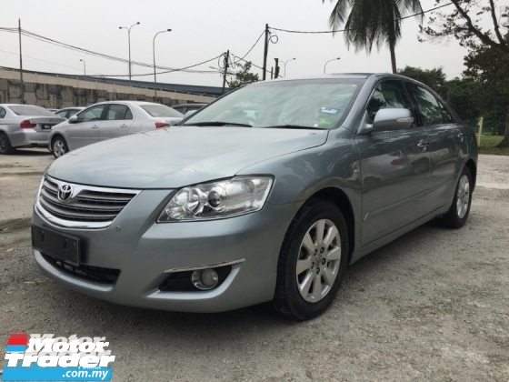 2008 TOYOTA CAMRY 2.0G Sedan ONE OWNER FULL SPEC TIPTOP LOW MILEAGE