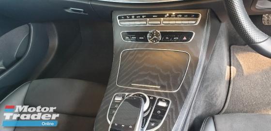 2018 MERCEDES-BENZ E-CLASS E300 AMG LINE PREMIUM COUPE NO HIDDEN CHARGES
