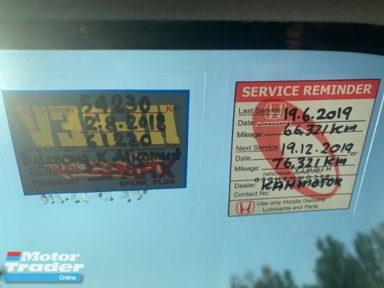 2014 HONDA CITY 1.5E (A) HONDA FULL SERVICE REC 65K KM