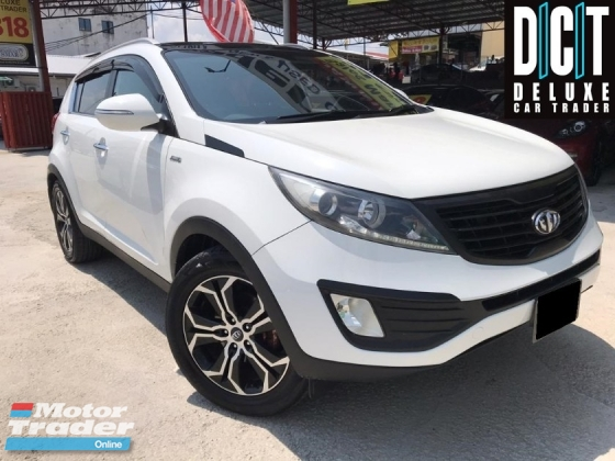 2014 KIA SPORTAGE 2.0 SL NAVI PLAYER KEYLESS  PUSH START SUNROOF FULL LEATHER SEAT ORIGINAL PAINT ACCIDENT FREE