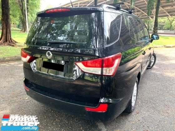 2015 SSANGYONG STAVIC SV200 eXDI 2.0 (A) 11 SEAT 1 OWNER
