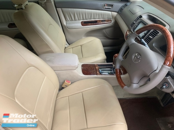 2003 TOYOTA CAMRY 2.4V (A) HIGH SPEC 1 OWNER SALE