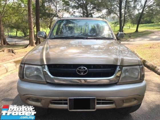 2004 TOYOTA HILUX DOUBLE CAB 2.5 (AT) SR TURBO GOOD CONDITION